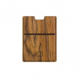 Card holder in rosewood
